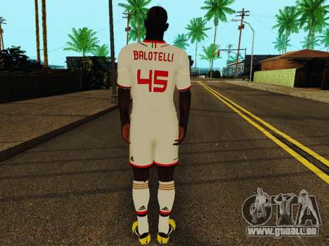 Mario Balotelli v2 für GTA San Andreas her Screenshot