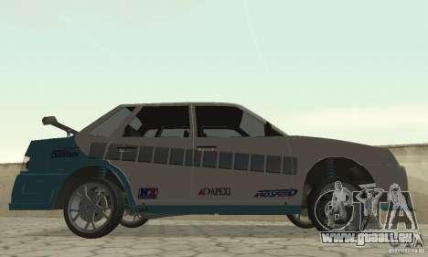 VAZ 21099 PROstreet v. 2 für GTA San Andreas zurück linke Ansicht