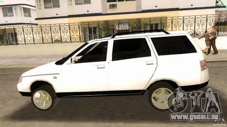 VAZ 2111 pour GTA Vice City vue latérale