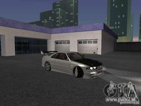 Nissan Skyline R33 SGM pour GTA San Andreas vue arrière
