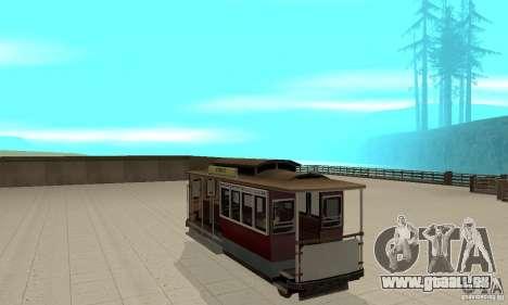 Tram pour GTA San Andreas vue de droite