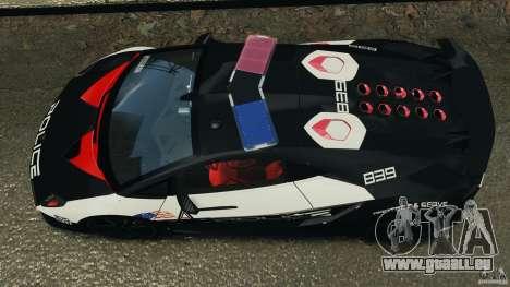 Lamborghini Sesto Elemento 2011 Police v1.0 RIV pour GTA 4 est un droit