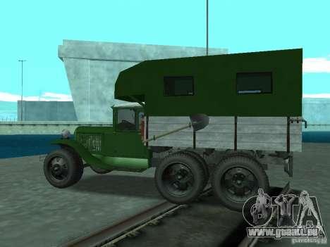 GAZ-AAA pour GTA San Andreas laissé vue