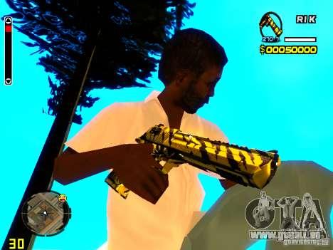 Tiger wepon pack für GTA San Andreas dritten Screenshot