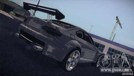 BMW M3 E92 Tuned pour GTA San Andreas vue intérieure