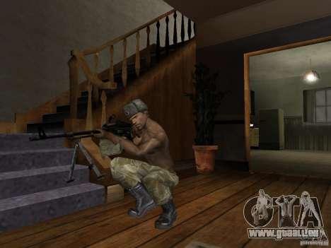 Chapeaux de Call of Duty 4: Modern Warfare pour GTA San Andreas huitième écran