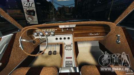 Ford Thunderbird Light Custom 1964-1965 v1.0 für GTA 4 Rückansicht