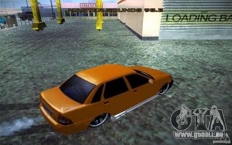 Lada Priora für GTA San Andreas zurück linke Ansicht