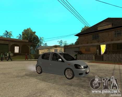 Toyota Vitz pour GTA San Andreas vue de droite