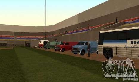 Terrain de Baseball animées pour GTA San Andreas troisième écran