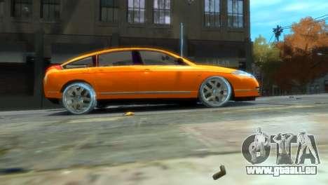Citroen C6 für GTA 4 Rückansicht