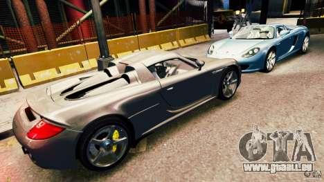 Porsche Carrera GT für GTA 4 Innenansicht