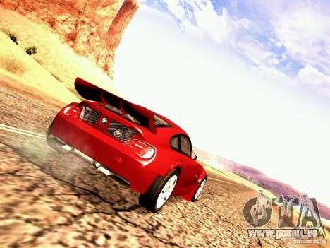 BMW Z4 Rally Cross pour GTA San Andreas vue de droite