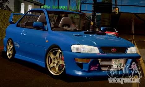 Subaru Impreza WRX GC8 InitialD pour GTA San Andreas