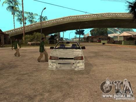 VAZ 2108 Convertible pour GTA San Andreas laissé vue