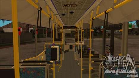Design X3 pour GTA San Andreas vue de dessus