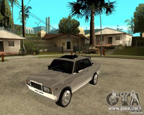 VAZ 2107 Light Tuning v2. 0 für GTA San Andreas