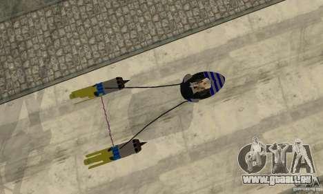 Star Wars Racer für GTA San Andreas Rückansicht