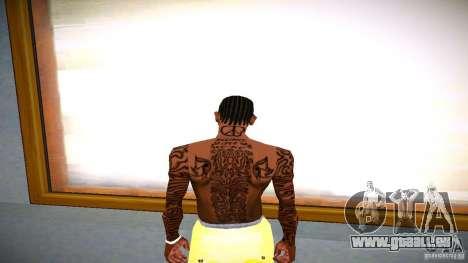 Drei neue Tätowierung für GTA San Andreas dritten Screenshot