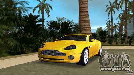Aston Martin V12 Vanquish 6.0 i V12 48V v2.0 für GTA Vice City