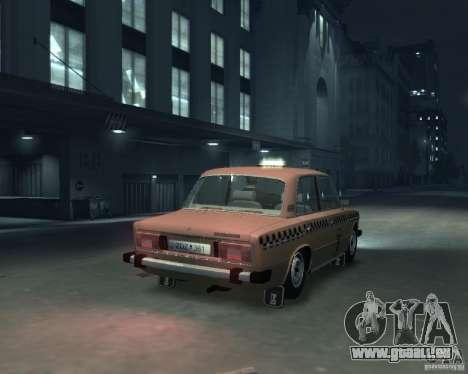 VAZ 2106 Taxi für GTA 4 Rückansicht