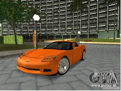 Chevrolet Corvette (C6) für GTA San Andreas