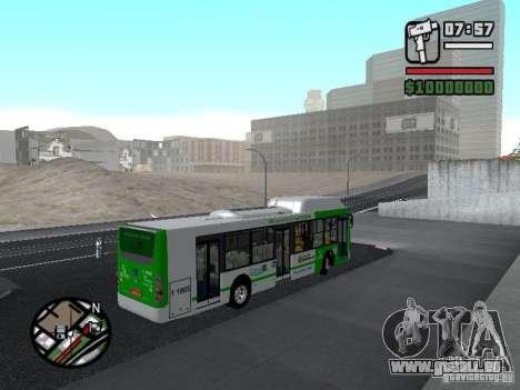 H Hibrido TUTTO 15M UPB C2 EX DR pour GTA San Andreas vue de droite