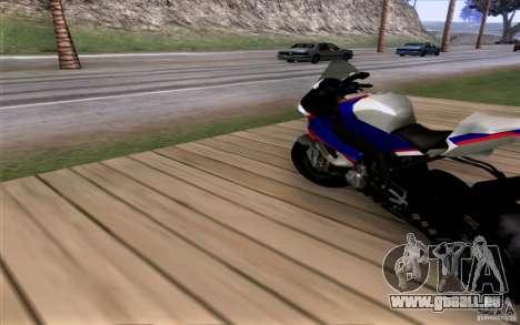 BMW S1000 RR für GTA San Andreas linke Ansicht