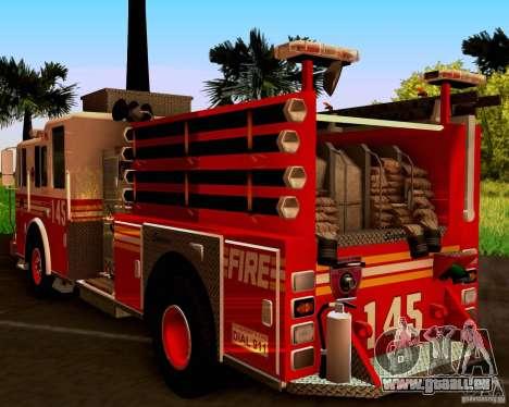 Pumper Seagrave Marauder F.D.N.Y für GTA San Andreas rechten Ansicht