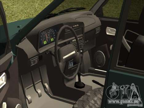 VAZ 2109 Finale für GTA San Andreas rechten Ansicht