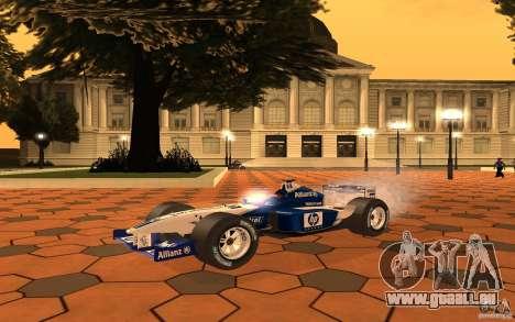 BMW F1 Williams für GTA San Andreas linke Ansicht