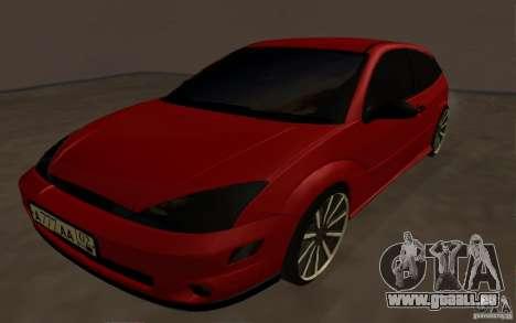 Ford Focus Light Tuning für GTA San Andreas