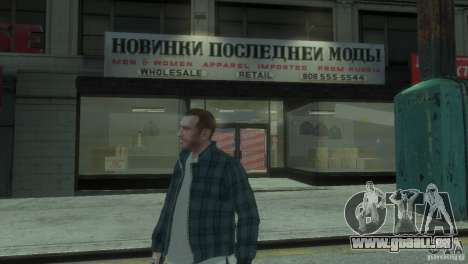New Russian Shop für GTA 4