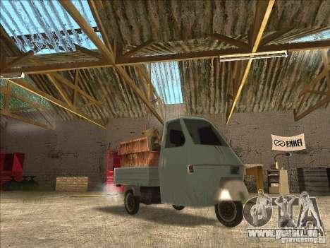 Ape Piaggio für GTA San Andreas