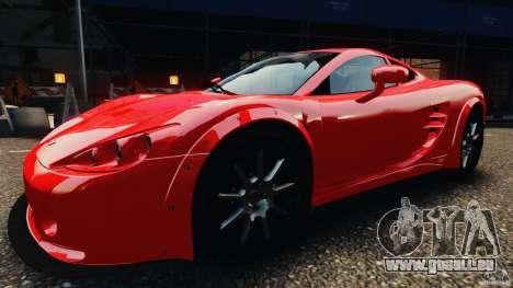 Ascari KZ1 v1.0 pour GTA 4 Vue arrière de la gauche