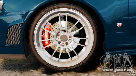 Nissan Skyline GT-R R34 Fast and Furious 4 pour GTA 4 est une vue de l'intérieur