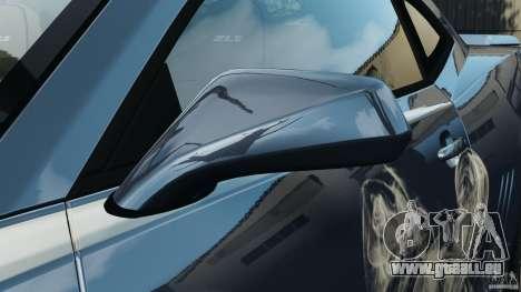 Chevrolet Camaro ZL1 2012 v1.0 Smoke Stripe pour GTA 4 Salon