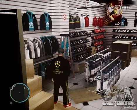 Foot Locker Shop v0.1 für GTA 4 neunten Screenshot