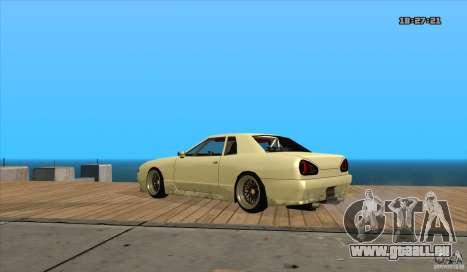 Elegy Drift Style pour GTA San Andreas laissé vue