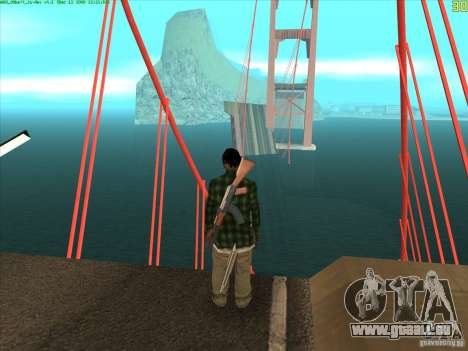 Takomskij Bridge (pont de Tacoma Narrows) pour GTA San Andreas