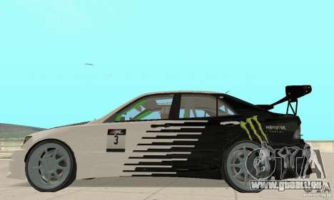 Lexus IS300 Drift Style pour GTA San Andreas vue de droite