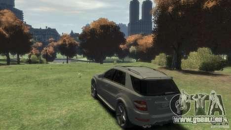 Mercedes-Benz ML63 AMG für GTA 4 linke Ansicht