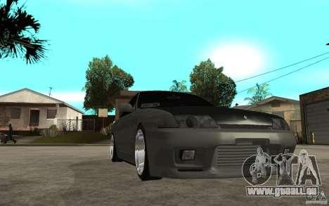 Nissan Skyline R32 - EMzone Edition pour GTA San Andreas vue arrière