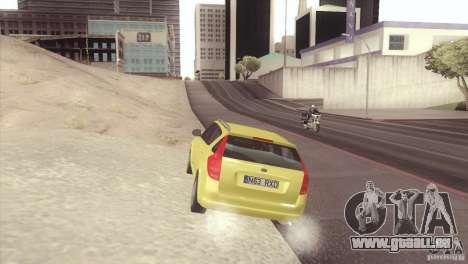 Kia Ceed pour GTA San Andreas laissé vue