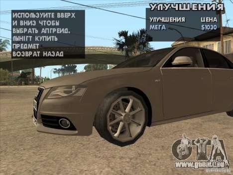 Tuning Maschine überall für GTA San Andreas her Screenshot