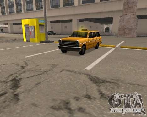 Perennial Cab pour GTA San Andreas laissé vue