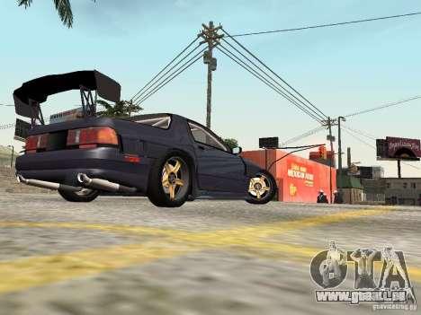 Mazda RX-7 FC3s Re-Amemiya pour GTA San Andreas sur la vue arrière gauche