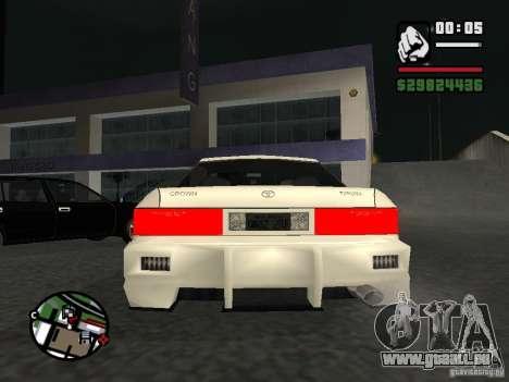 Toyota Crown Tunable für GTA San Andreas rechten Ansicht