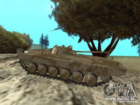 BMP-2 du CGS pour GTA San Andreas sur la vue arrière gauche