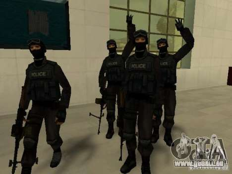 Aide Swat pour GTA San Andreas neuvième écran